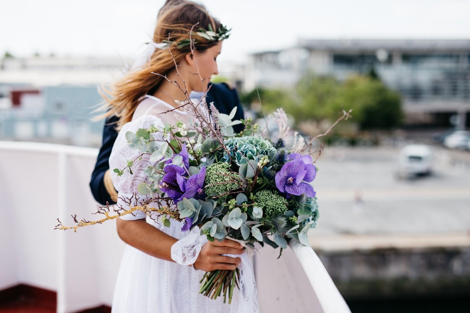 Bouquet da sposa. Quello a cascata è la vera scoperta per il 2018